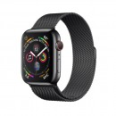 Apple Watch Series 4 GPS + Cellular 40mm Space Black with Space Black Milanese Loop