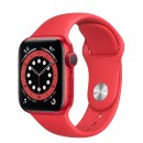 Apple Watch Series 6 40mm (PRODUCT)RED with Red Sport Band
